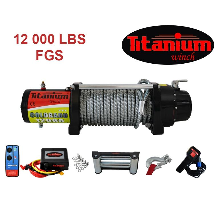 Titanium Winch csörlő COLORADO 12000