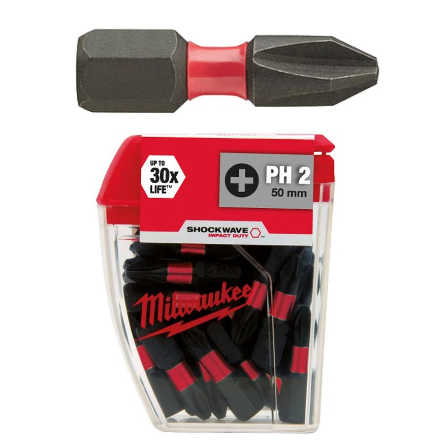 Milwaukee bithegy PH2 25 mm (25 db)