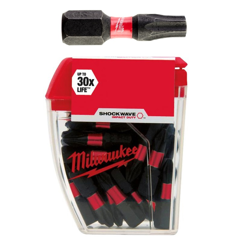 Milwaukee bithegy TX25 25 mm (25 db)