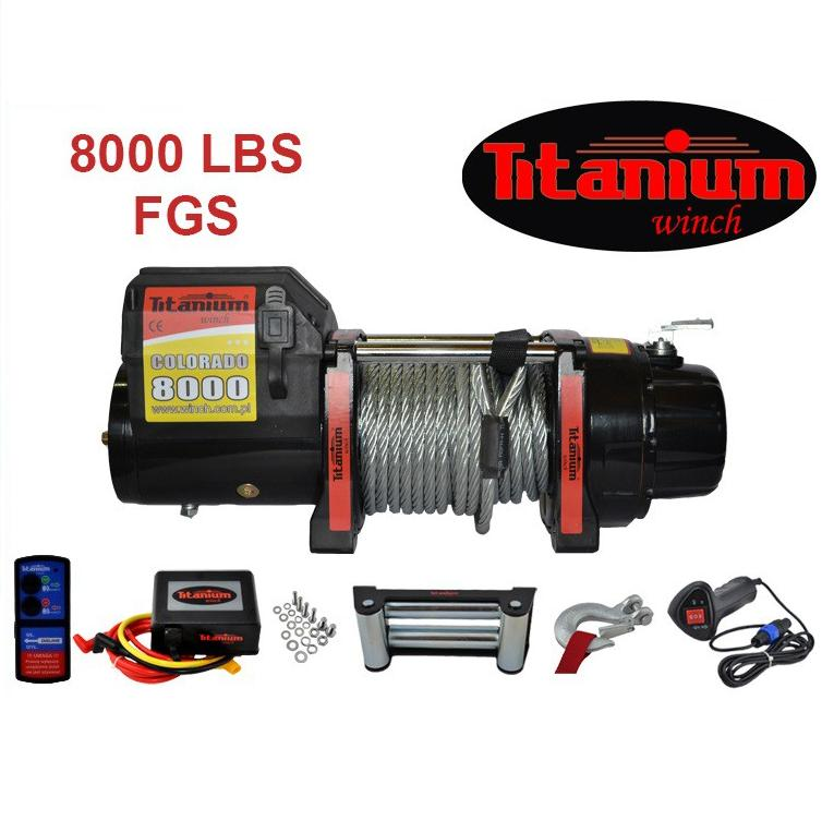 Titanium Winch csörlő COLORADO 8000