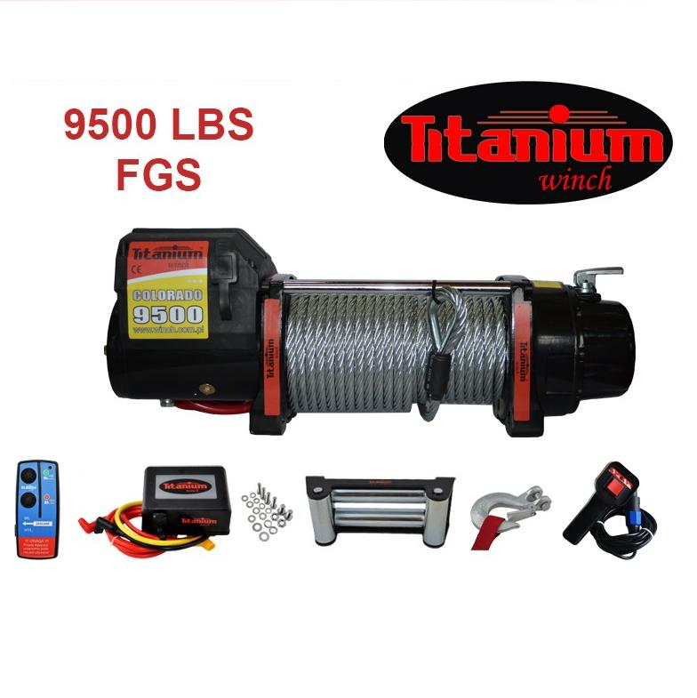 Titanium Winch csörlő COLORADO 9500