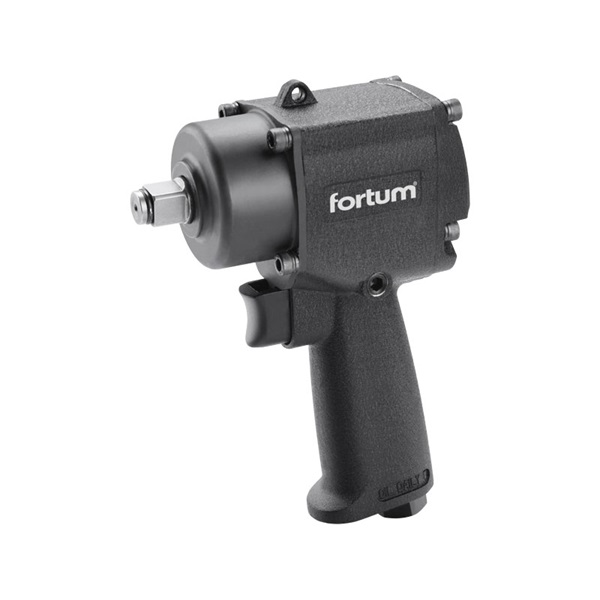 "Fortum légkulcs, 1/2"", 610Nm, (Twin Hammer)"